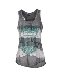 Blauer Topwear Vests Women Grey