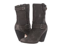 Corso Como Somers Black Worn Leather Women's Shoes
