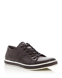 Kenneth Cole Brand Wagon Lace Up Sneakers Gray
