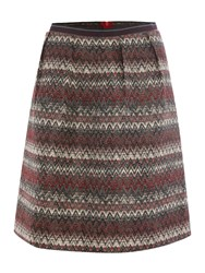 Noa Noa Above The Knee Skirt Red