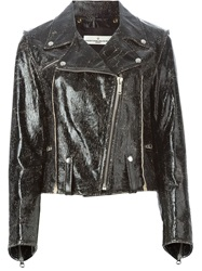 Golden Goose Deluxe Brand Biker Jacket Black