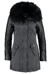 Khujo Merle Winter Coat Charcoal Anthracite
