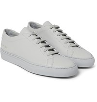 Common Projects Original Achilles Leather Sneakers Light Gray