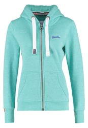 Superdry Primary Tracksuit Top Snowy Spearmint