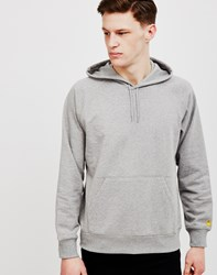 Carhartt Wip Chase Hoodie Grey Heather