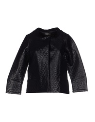 Soallure Jackets Black