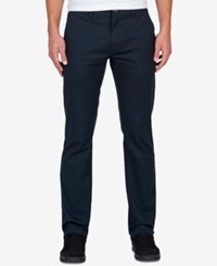 Volcom Men's Frickin Modern Stretch Pants Navy Drk