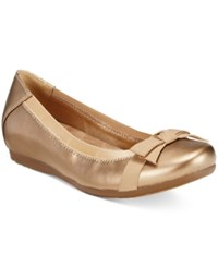 Bare Traps Maiya Hidden Wedge Flats Women's Shoes Bronze
