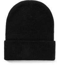 J.Crew Ribbed Knit Beanie Black