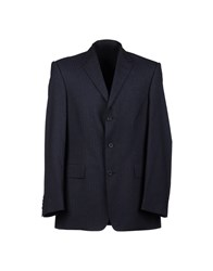 E. Tautz Suits And Jackets Blazers Men Dark Blue