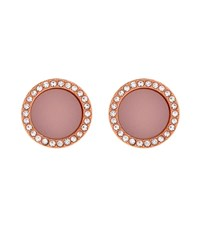Michael Kors Blush Pave Stud Earrings Female