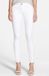 Women's James Jeans 'Twiggy' Skinny Leggings Frost White