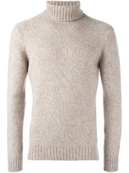 Etro Turtleneck Jumper Nude And Neutrals
