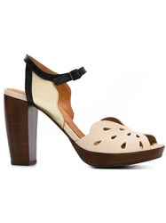 Chie Mihara 'Alohataichi Leche' Sandals Nude And Neutrals