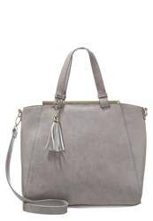 Anna Field Tote Bag Light Grey