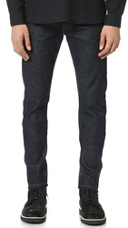 The Kooples Fitted Denim Jeans Blue Brut