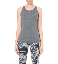 Sweaty Betty Athlete Workout Vest Top Slate Marl