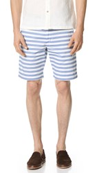 Ben Sherman Striped Shorts Oxford Blue