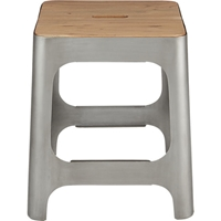 Hitch Raw Stool In Dining Chairs Bar Stools Cb2