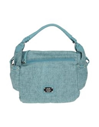 Capoverso Medium Fabric Bags Sky Blue