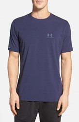 Men's Under Armour 'Sportstyle' Charged Cotton Loose Fit Logo T Shirt Midnight Navy Steel