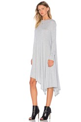 The Fifth Label Time Lapse Long Sleeve Dress Gray