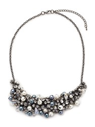 Jacques Vert Pearl Mix Necklace Grey