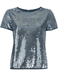 Zadig And Voltaire 'Trusty' T Shirt Metallic