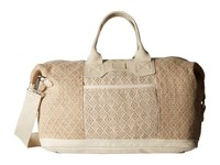 Toms Woven Mix Weekender Natural Weekender Overnight Luggage Beige