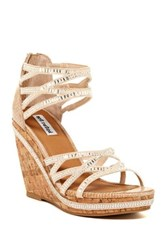 Not Rated Baltic Sea Wedge Sandal Beige