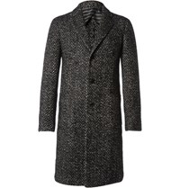 Etro Jacquard Coat Black