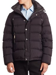 Burberry Hartley Quilted Puffer Jacket Black