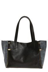 Emperia 'Aria' Winged Zipper Tote Black