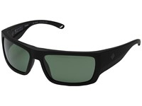 Spy Optic Rover Soft Matte Black Happy Glass Gray Green Polar Fashion Sunglasses Blue