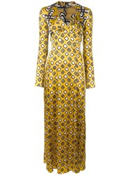 Wunderkind 'Caitlyn's' Long Sleeved Dress Yellow Orange