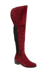 Charles By Charles David Women's 'Giza' Over The Knee Boot Merlot Suede