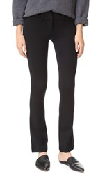David Lerner Skinny Flare Pants Classic Black