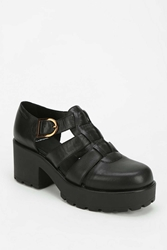 Vagabond Dioon Fisherman Platform Heel Black