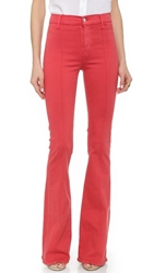 Koral High Rise Flare Jeans Baked Apple