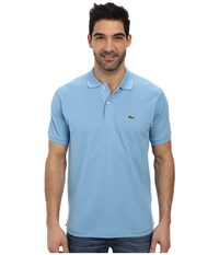 Lacoste L1212 Classic Pique Polo Shirt Naval Blue Men's Short Sleeve Knit