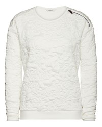 Sandwich Quilted Jumper White