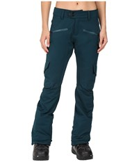 686 Authentic Mistress Insulated Cargo Pants Black Jade Women's Casual Pants
