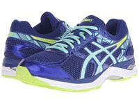 Gel Exalt 3 Asics Blue Mint Flash Yellow Women's Running Shoes