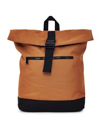 The Idle Man Roll Top Backpack Tan