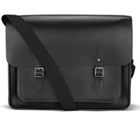 The Cambridge Satchel Company Men's Work Messenger Bag Black