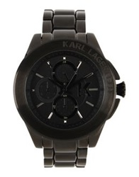 Karl Lagerfeld Wrist Watches Black