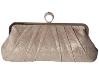 Jessica Mcclintock Ring Form Clutch Dusty Rose Clutch Handbags Pink