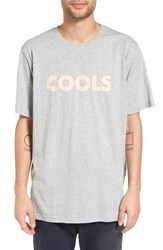 Barney Cools Men's 'Retro Cool Homie' Oversize Graphic Crewneck T Shirt