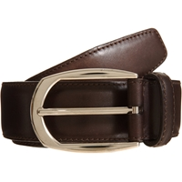Brioni Polished Belt Brown