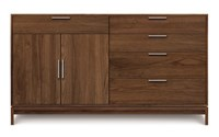 Copeland Furniture Kyoto 4 Drawer On Right 1 Drawer Over 2 Door On Left Buffet